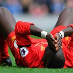 Sadio Mane is injured for Liverpool vs. Everton