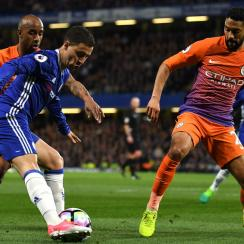 Eden Hazard starred for Chelsea vs. Manchester City