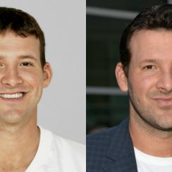 Tony Romo, Tom Brady and more NFL QB face morph GIFs