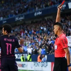 Neymar will miss El Clasico as he must serve a three game suspension