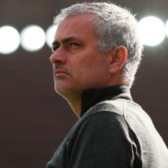 Jose Mourinho has endured mixed results in his first season at Manchester United