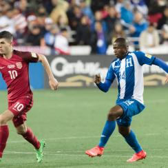 Christian Pulisic and Michael Bradley key the USA's midfield