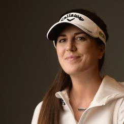 When not competing on the LPGA tour, Sandra Gal does all sorts of other things, like produce her own music.