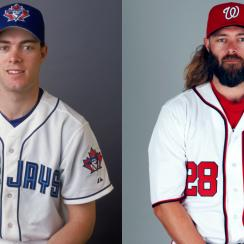 Watch MLB GIFs of player transformations from rookie selves