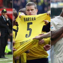 Jose Mourinho, Marc Bartra, AC Milan make news Around Europe over the weekend