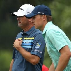 Ryan Palmer and Jordan Spieth are just three shots back at the Zurich Classic.