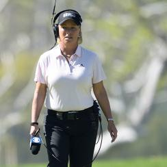 Dottie Pepper has been a golf analyst and reporter for years, but it will be some time before you see her on Twitter.