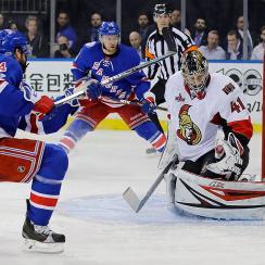 New York Rangers Oscar Lindberg
