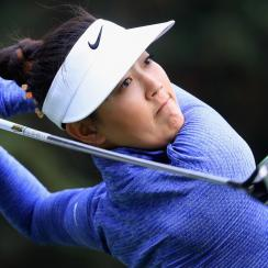 Michelle Wie won her second-round match on Friday, sending her into the round of 16 at the Lorena Ochoa Match Play.