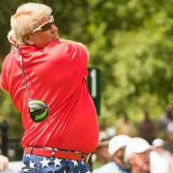John Daly is back in the winner's circle.