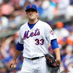 New York Mets Matt Harvey