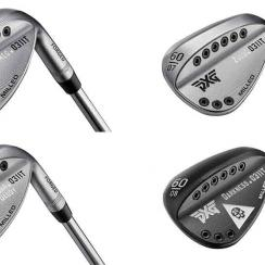 PXG announced that its Tour-validated 0311T forged wedges are available to the public in four different sole designs: Romeo (top left), Sugar Daddy (bottom left), Zulu (top right) and Darkness (bottom right).