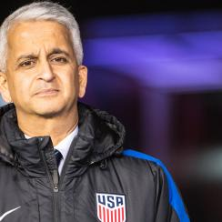 US Soccer president Sunil Gulati