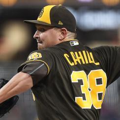San Diego Padres Trevor Cahill