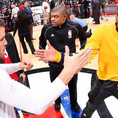Paul George and Blake Griffin
