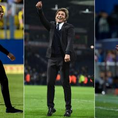 The futures of Thomas Tuchel, Antonio Conte and Diego Simeone are in focus as seasons wind down