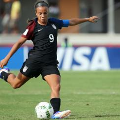 Mallory Pugh will play for the Washington Spirit in NWSL