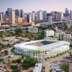 David Beckham's ownership group hopes to build a stadium in the Overtown neighborhood of Miami