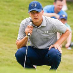 Jordan Spieth missed the cut at the Nelson.