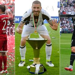Seasons have come to a close for Bayern Munich, Juventus and Real Madrid