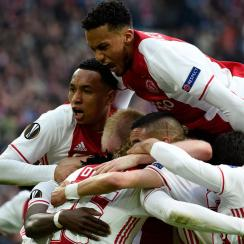 Ajax has reached the Europa League final vs. Manchester United