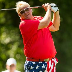 John Daly recently won his first Champions tour title at the Insperity Invitational.
