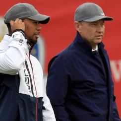 Tiger Woods and Davis Love have had multiple conversations about fusion surgery and recovering from it.