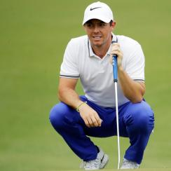 Rory's rib injury surfaced again from long practice sessions leading to the Players Championship.