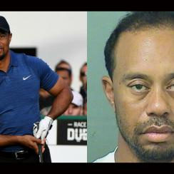 Tiger Woods was arrested on Monday morning in Florida.