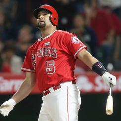 Los Angeles Angels Albert Pujols