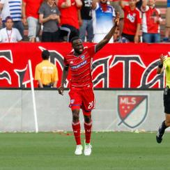 FC Dallas returned to its winning ways behind Roland Lamah's hat trick