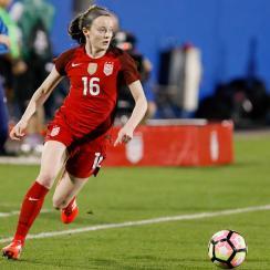Rose Lavelle scores for the USA vs. Sweden
