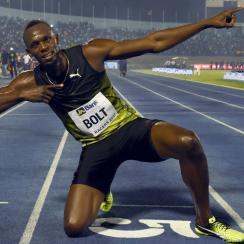 usain bolt wins 100m final race jamaica