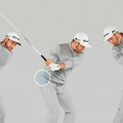 See below for Dustin Johnson's key power moves.