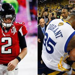 Falcons can learn from Warriors' championship collapse