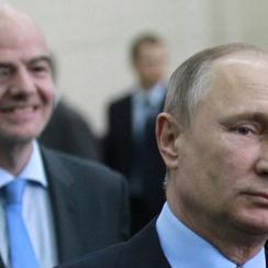 Vladimir Putin demands better from the Russia soccer team