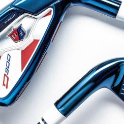The new limited edition Wilson Staff D300 irons.