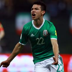 Mexico's Hirving Lozano is on his way from Pachuca to PSV