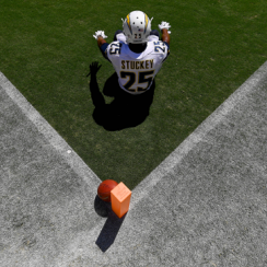 Chargers safety Darrell Stuckey.
