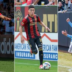 Nemanja Nikolic, Miguel Almiron and David Villa have been among the best players in MLS in the first half of the season