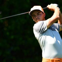 Rickie Fowler tees it up at the Quicken Loans National this week.
