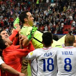 Claudio Bravo was the PK hero for Chile vs. Portugal in the Confederations Cup