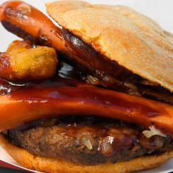 A Dodger Burger.