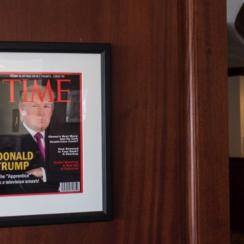 A frame from Washington Post's video shows the fake TIME cover in question.