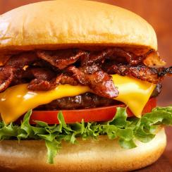 Welcome to SI Eats: Bacon cheeseburger
