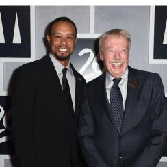 Phil Knight pursued Tiger Woods as a junior player, and signed him to the Nike staff when Tiger was 20 years old.