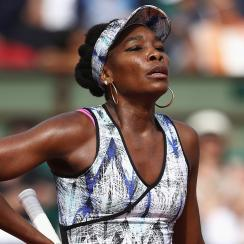 venus williams car crash police blame