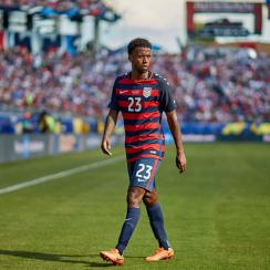Kellyn Acosta eyes a rebound performance for the USA vs. Martinique