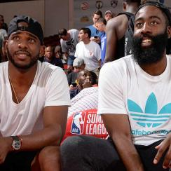 Chris Paul and James Harden