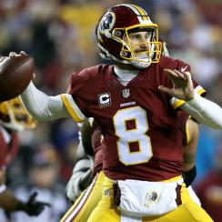 Washington Redskins quarterback Kirk Cousins.